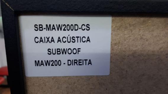 Caixa Acustica Panasonic Sb-maw200d-cs 4 Ohms Nova!