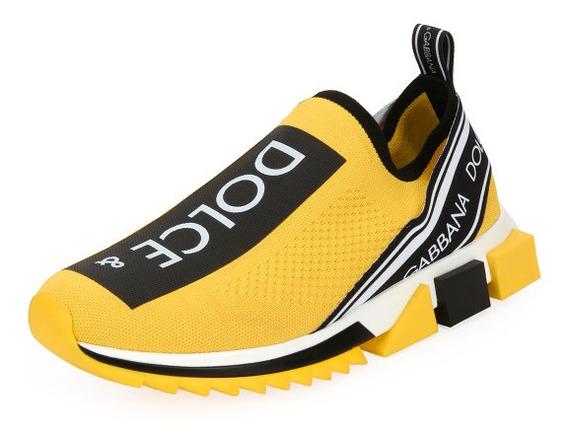 Promoção Sapato Amarelo C/ Preto Elastico Dg Cc