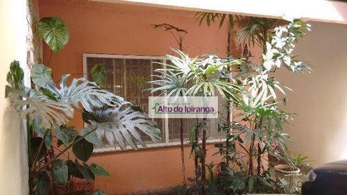 Sobrado Com 3 Dormitórios À Venda, 150 M² Por R$ 670.000,00 - Jardim Santa Cruz (sacomã) - São Paulo/sp - So0610
