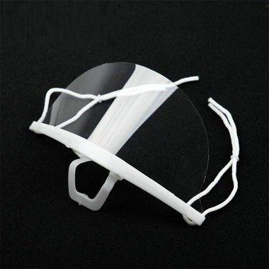5 Máscaras Transparente Higiênica Estética Micropigmentação