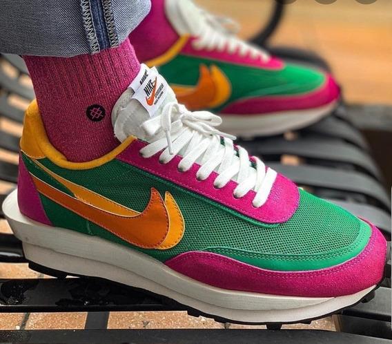 Tenis Nike Ldwaffle/sacai Pine Green