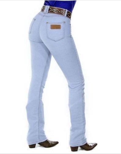 Calça Jeans Feminina Radade Tradicional Lycra Hot Delave