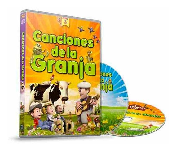 Los Videoclips De La Canciones De La Granja De Zenon Dvd+cd