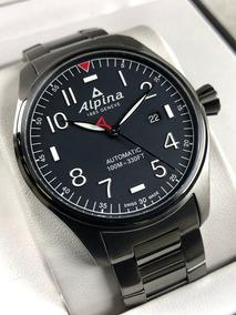 Relógio Automático Alpina Startime Pilot Al-525nn4ts6b Aço