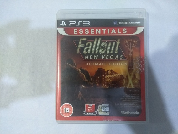 Fallout New Vegas Ultimate Edition - Playstation 3 Ps3