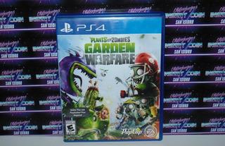 Plantas Vs Zombies Garden Warfare Play Station 4 Ps4 Juego