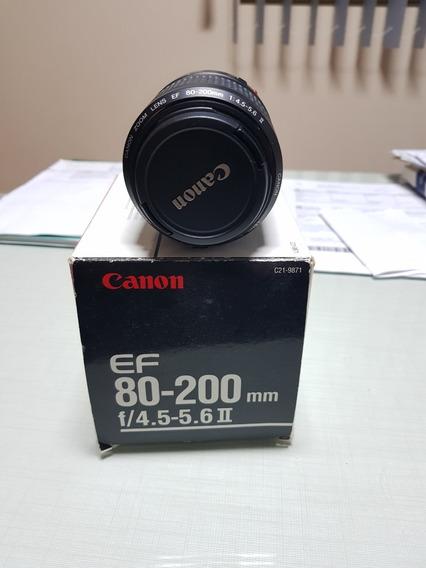Lente Zoom Canon 80-200 F/4.5-5.6ii Novo