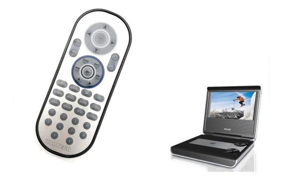 Controle Remoto Para Dvd Portátil Pet725 Pet708 Philips