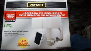 Lampara De Seguridad Con Sensor De Movimiento
