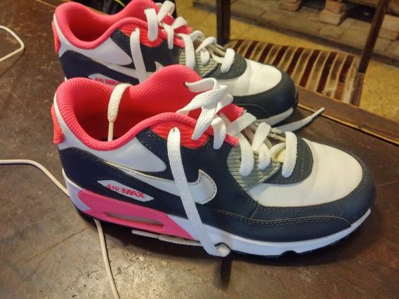 Zapatillas Nena Nike Air Max, Originales, Importadas,34arg
