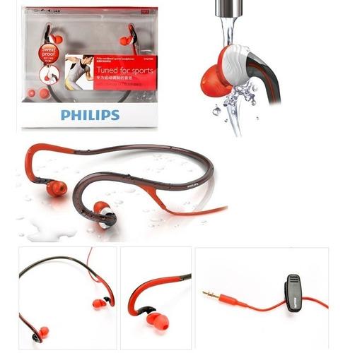 Audifonos Philips Actionfit Sports Banda Al Cuello Shq4000