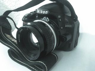 Cámara Profesional Nikon D3100 Videoy Foto