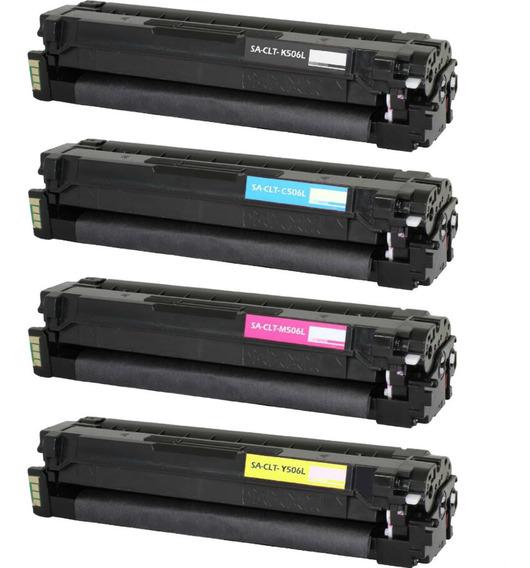 Toner Comp. Samsung Clt 406 Bk/ma/yw/cy Clp 365w/clx 3305