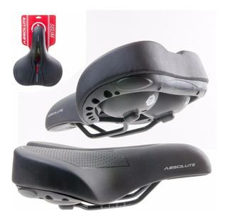 Selim Bike Conforto Absolute Vd851d Vazado Super Soft City