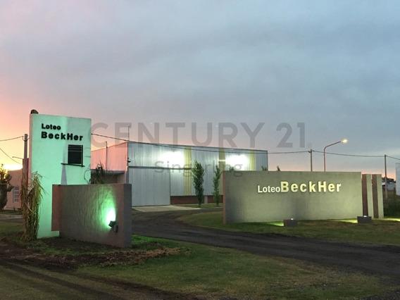 Se Liquida Lote En Loteo Beckher, Con Finalidad Logística E Industrial