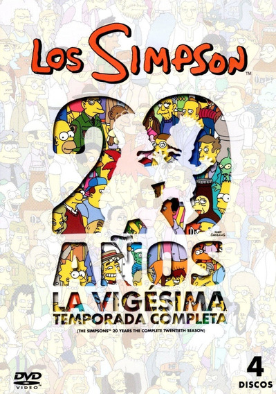 Los Simpson Temporada 20 Veinte Serie Dvd
