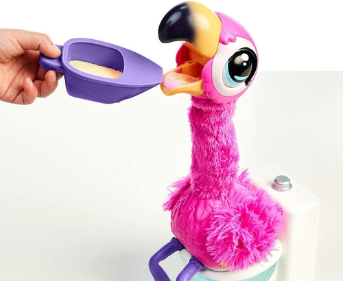 Little Live Pets Gotta Go Flamingo Peluche Interactivo Come