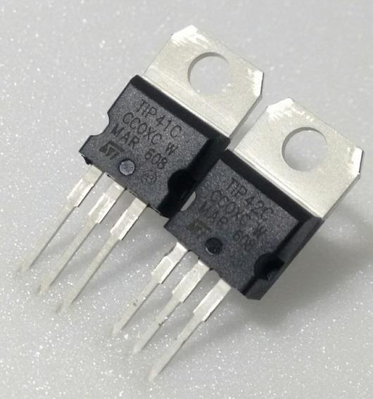 1x Par Transitor Tip41 + Tip42 * Tip 41 + Tip 42 - Original