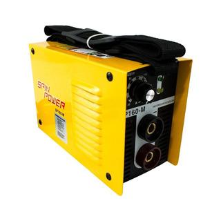 Máquina Inversor De Solda Vulcan Sp160m Spin Power 160a 220v 12x S/juros