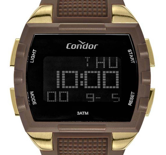 Relógio Condor Digital Masculino Cobj2649aa/2m Original + Nf