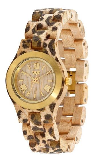 Relógio, Wewood, Criss Mb Leo Beige Gold