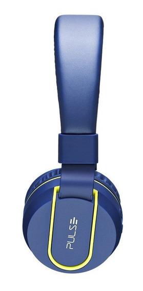 Fone De Ouvido Fun Bluetooth Azul E Verde Pulse - Ph218