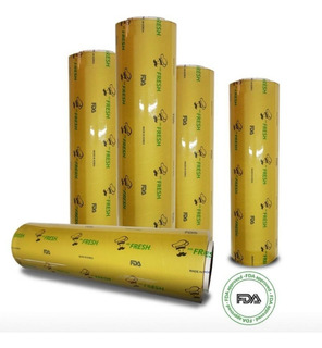 2 Rollos Emplaye Hotelero Bio Vitafilm Adherible Cocina 35cm