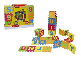Puzzle Letras Y Numeros De Eva Play Doh