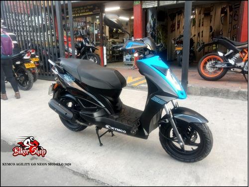 Kymco Agility Go Neon Modelo 2020 Solo En Biker Shop