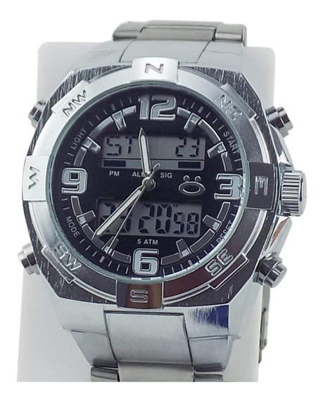 Relógio Masculino Spaceman Orizom Analógico + Caixa Rospd19