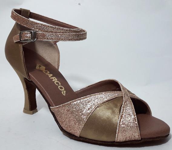 Zapatos De Baile Salsa Bachata Tango Darcos Diamante 2
