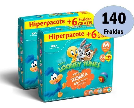 Kit Fraldas Descartáveis Looney Tunes Atacado Barato