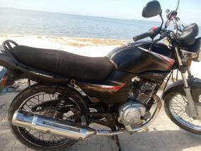 Moto Ybr Preta