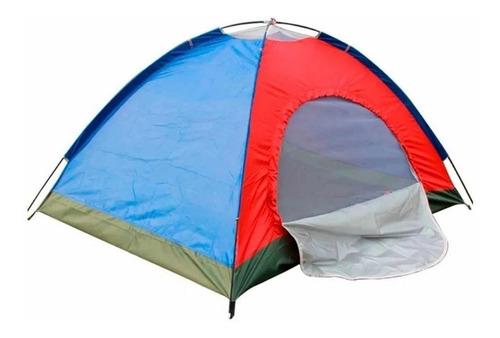 Carpa Para Campar Impermeable Para 4 Personas