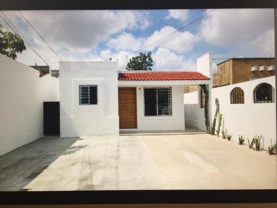 Casa Recién Remodelada En Venta En Mérida, Juan Pablo Ii