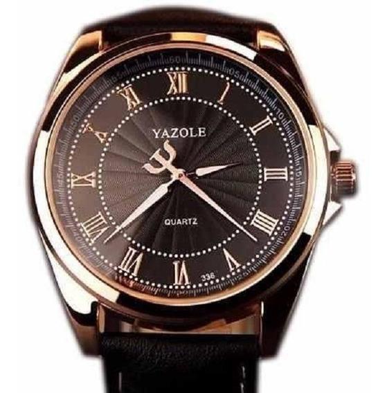 Relógio Masculino Social De Pulso Yazole 336