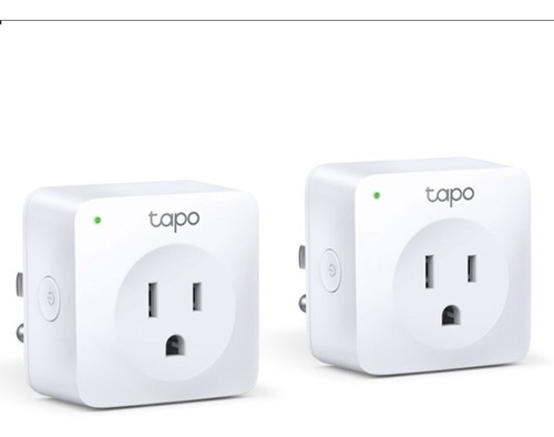 Enchufe Inteligente Tplink Tapo P100 Pack Por 2 Smart Mf