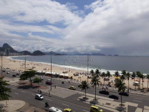 Imagem 1 de 26 de Apartamento À Venda, 200 M² Por R$ 2.800.000,00 - Copacabana - Rio De Janeiro/rj - Ap6823