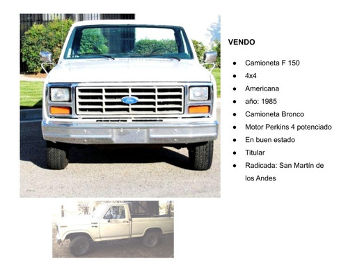 Ford 150 1985
