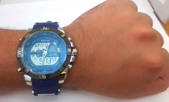 Relógio Masculino Digital E Analógico A Prova D