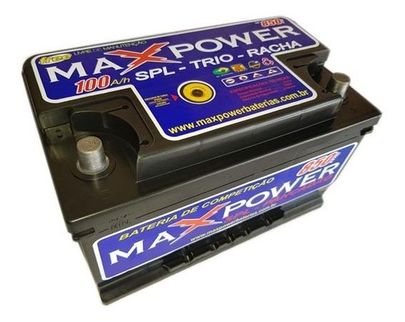 Bateria Maxpower Alto Rendimento 100ah Ciclo Profundo