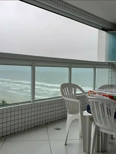 Imagem 1 de 14 de Sacada C/ Churrasqueira - Vista  P/ O Mar - 2 Dormitórios