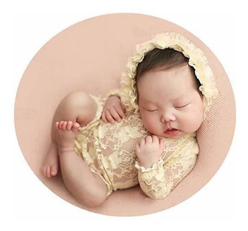 Imagen 1 de 4 de Accesorios Para La Fotografia Del Bebe Sombreros De Encaje P