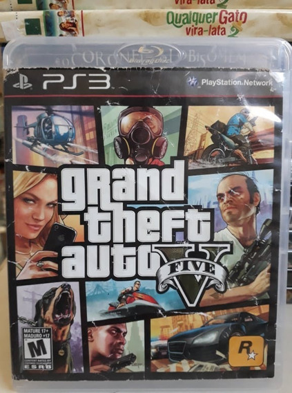 The Grand Theft Auto V - Fisica Ps3 - Original - Usado