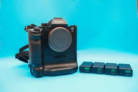 Sony A7rii + Grip Original + 4 Baterias