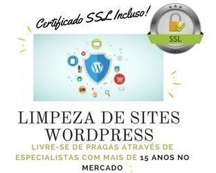 Imagem 1 de 3 de Limpeza De Sites Wordpress - Limpeza De Vírus + Ssl
