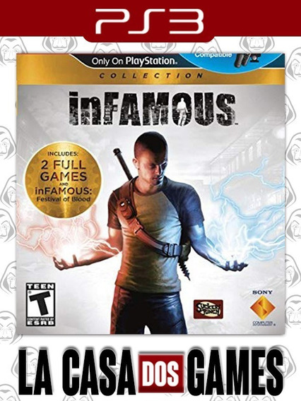 Infamous: Collection - 1, 2 E Festival Of Blood - Psn Ps3