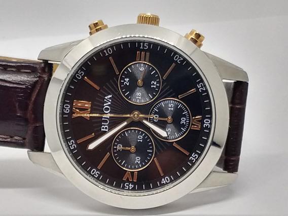 Relógio Bulova Swiss Social Quartz