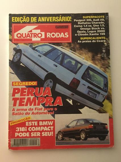 Quatro Rodas 409 Agosto 1994 Bmw 318i Tempra Perua Audi A8