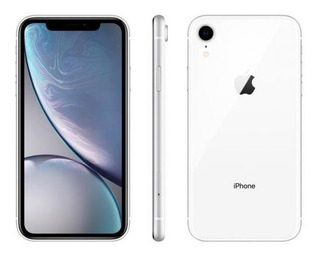 iPhone Xr Apple 64gb Branco 4g Tela 6,1 Retina-câmera 12m